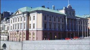 Swedish foreign ministry