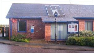 Capel St Mary police station