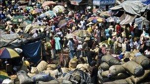 Market in Port-au-Prince