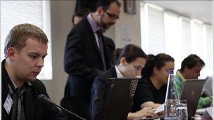 Cyber Europe 2010 in progress (Pic: EU)