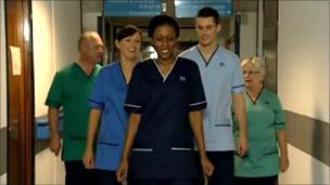 New NHS uniform