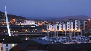 SA1 in Swansea