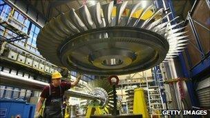 Siemens gas turbine factory