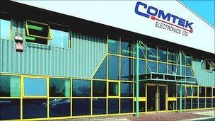 Comtek factory, Deeside Industrial Park