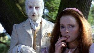 Kate Dorring as Alice and Jonathan Cecil in 1986 BBC production
