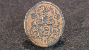 The Mary Queen of Scots ring seal