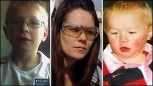 William, Samantha and AJ Hudson