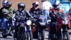 Generic biker picture