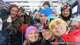 Skiers. Pic: CairnGorm Mountain
