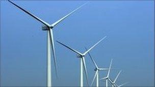 Burbo Bank wind turbines