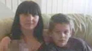 Monika Wasko and son Patryk