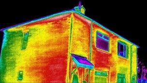 Uninsulated house