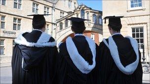 Oxford University students