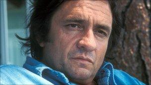 Johnny Cash in August 1973