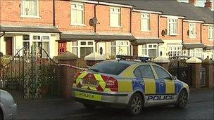 The man was shot in a house at Brompton Park on Monday night