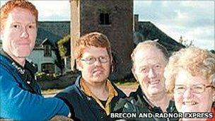 Teylu Jones o Dalgarth, Powys