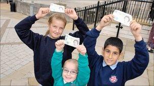 Rotherham school children