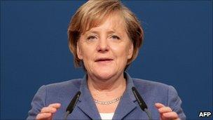 German Chancellor Angela Merkel (16 Nov 2010)