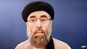 Gulbuddin Hekmatyar pictured in May 2007