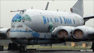 A Nimrod spy plane
