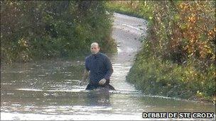 Devon floods