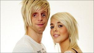 Jono Lancaster and Laura Richardson