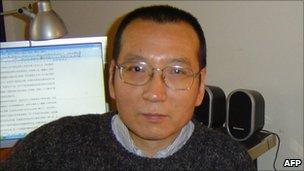 Liu Xiaobo, pictured in March 2005