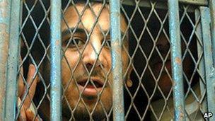 Abdel Kareem Nabil Soliman in jail 2007
