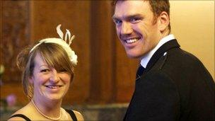 Kirsty Strachan and husband Michael Strachan