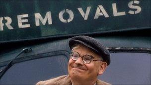 Ronnie Barker as Clarence Sale