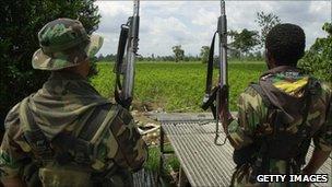 AUC rebels, file pic