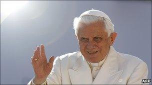 Pope Benedict XVI, file pic