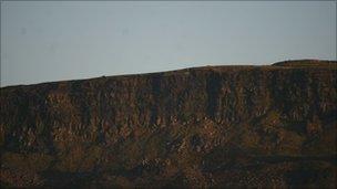 Limavady cliff