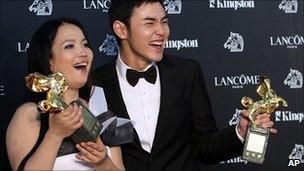 Lu Liping and Ethan Juan Ching-tien