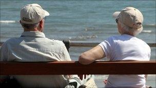 Elderly couple - generic