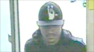 Leicester bank robber