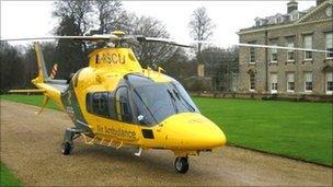 Warwickshire and Northamptonshire Air Ambulance