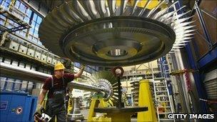 German factory worker