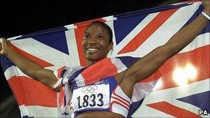 Olympic heptathlete champion Denise