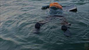 Reconstruction of body dropped in sea near Spanish port