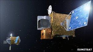 MTG spacecraft (Eumetsat)