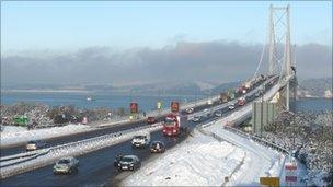 Forth Road Bridge (Pic: Chris Waite)