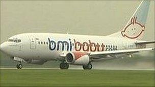 bmibaby aircraft