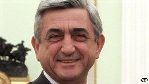 Armenian President Serge Sarkisian, 11 November 2010