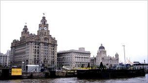 Liver buildings, Liverpool