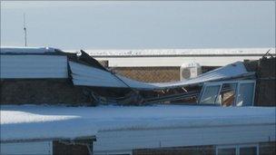 Milecastle school roof