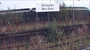 Moor St station platforms (old)