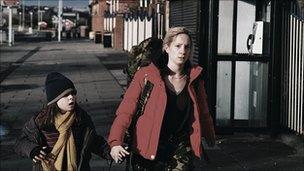 Joanne Froggatt in a scene from In Our Name