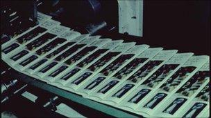papers on printing press
