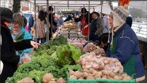 Riverside market, Cardiff